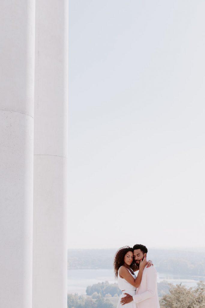 Poésie Urbaine - Elopement blanc, épuré et moderne...