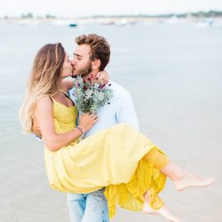 Cindy + Quentin • portrait de deux amoureux sur la plage du Cap-Ferret | Matthieu Bondon | La Mariée Sous Les Etoiles