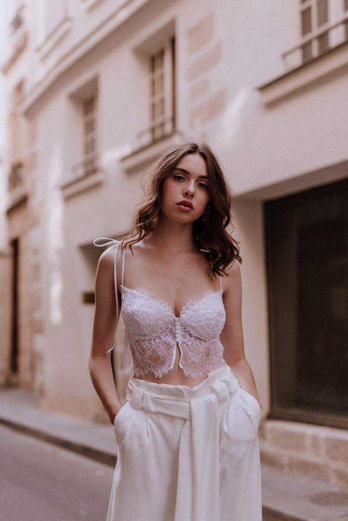 Adélie Métayer • collection capsule 2019, La Tendresse | Lika Banshoya | La Mariée Sous Les Etoiles