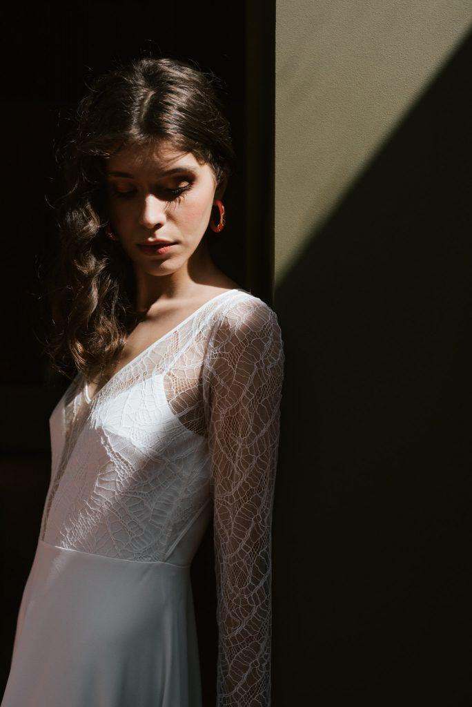 Mademoiselle de Guise | robe de mariée Paris | Collection 2020 | Chloé Lapeyssonnie | La Mariée Sous Les Etoilesmariage