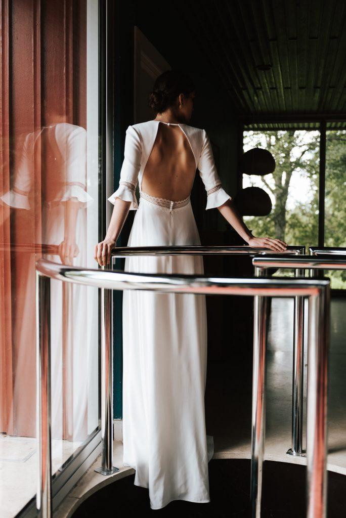 Mademoiselle de Guise | robe de mariée Paris | Collection 2020 | Chloé Lapeyssonnie | La Mariée Sous Les Etoiles