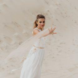 Louise Valentine collection 2020 robes de mariée Bio | Crédit Julie Hardiagon | La Mariée Sous Les Etoiles