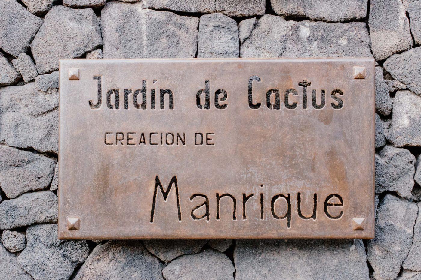 Le jardin de cactus | Voyager en van aux Canaries | Découvrir Lanzarote en famille en mode slowlife |  La mariée sous les étoiles