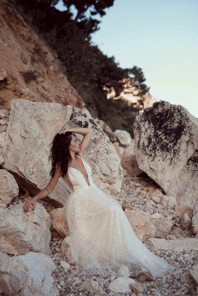 Audacieuse Adélaïde - Collection 2021 de robes de mariée | Arty photos | La Mariée Sous Les Etoiles