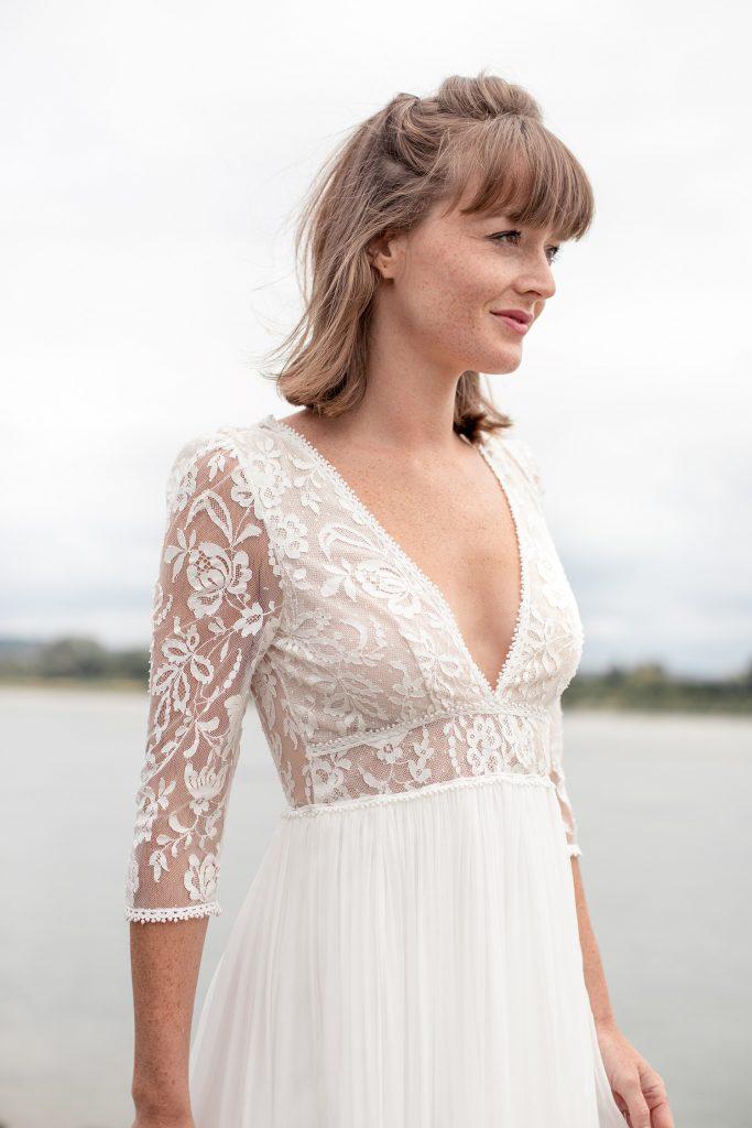Elodie Michaud | collection 2021 de robes de mariée | crédit photo Alice Lemarin | Blog mariage La Mariée Sous Les Etoiles