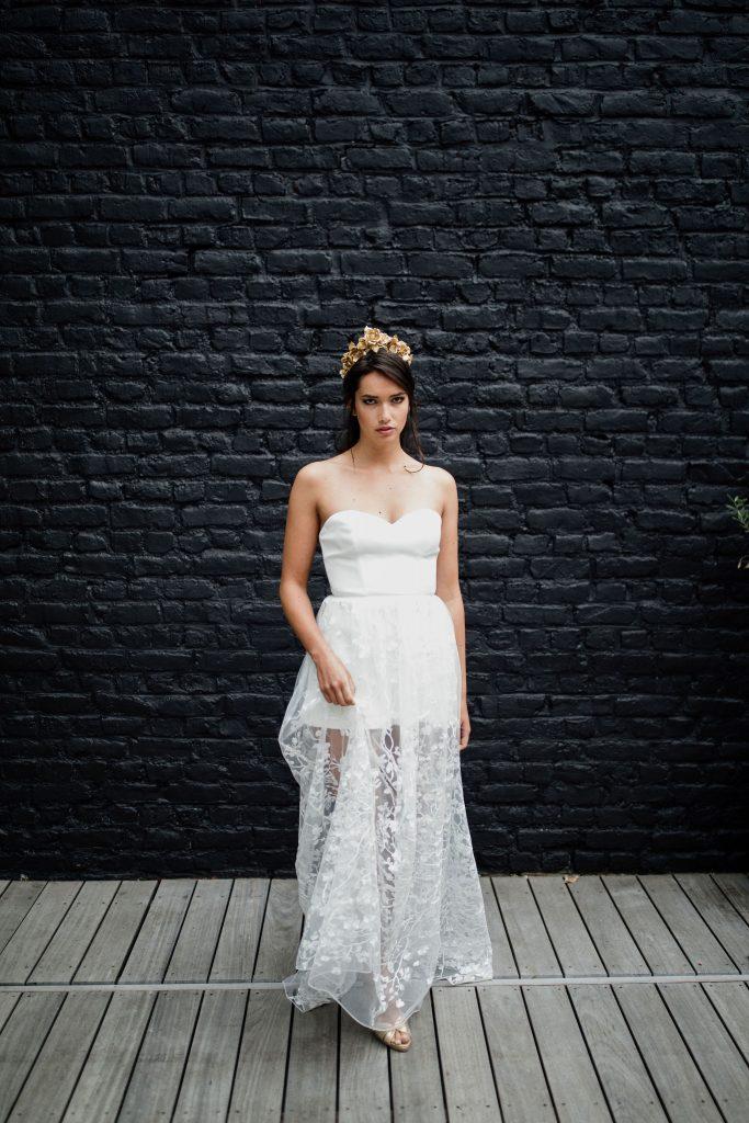 Maïté Bailleul • collection 2021 de robes de mariée | Coralie Lescieux | La Mariée Sous Les Etoiles