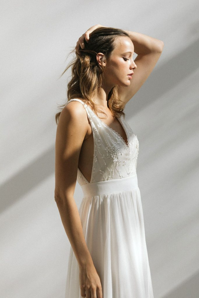 Anna Dautry • collection 2021 de robes de mariée | Henri Buffetaut | Blog mariage La Mariée Sous Les Etoiles