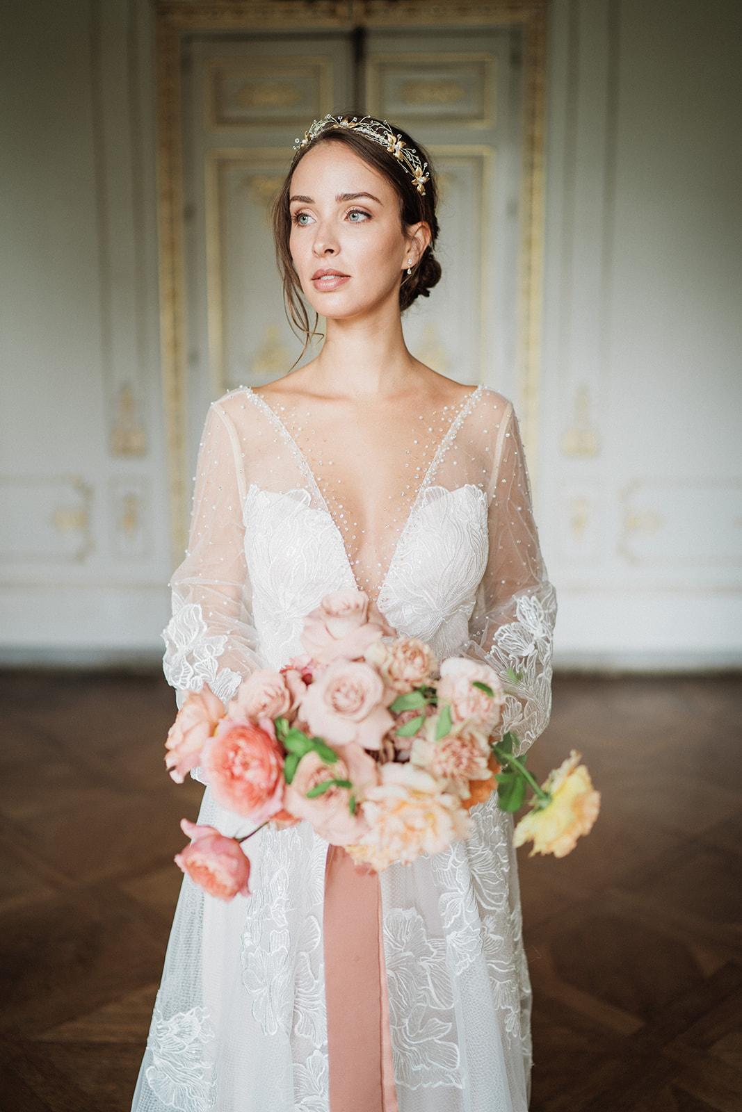 So Helo • collection 2021 de bijoux et accessoires de la mariée | Crédit Vivien Malagnat | La Mariée Sous Les Etoiles
