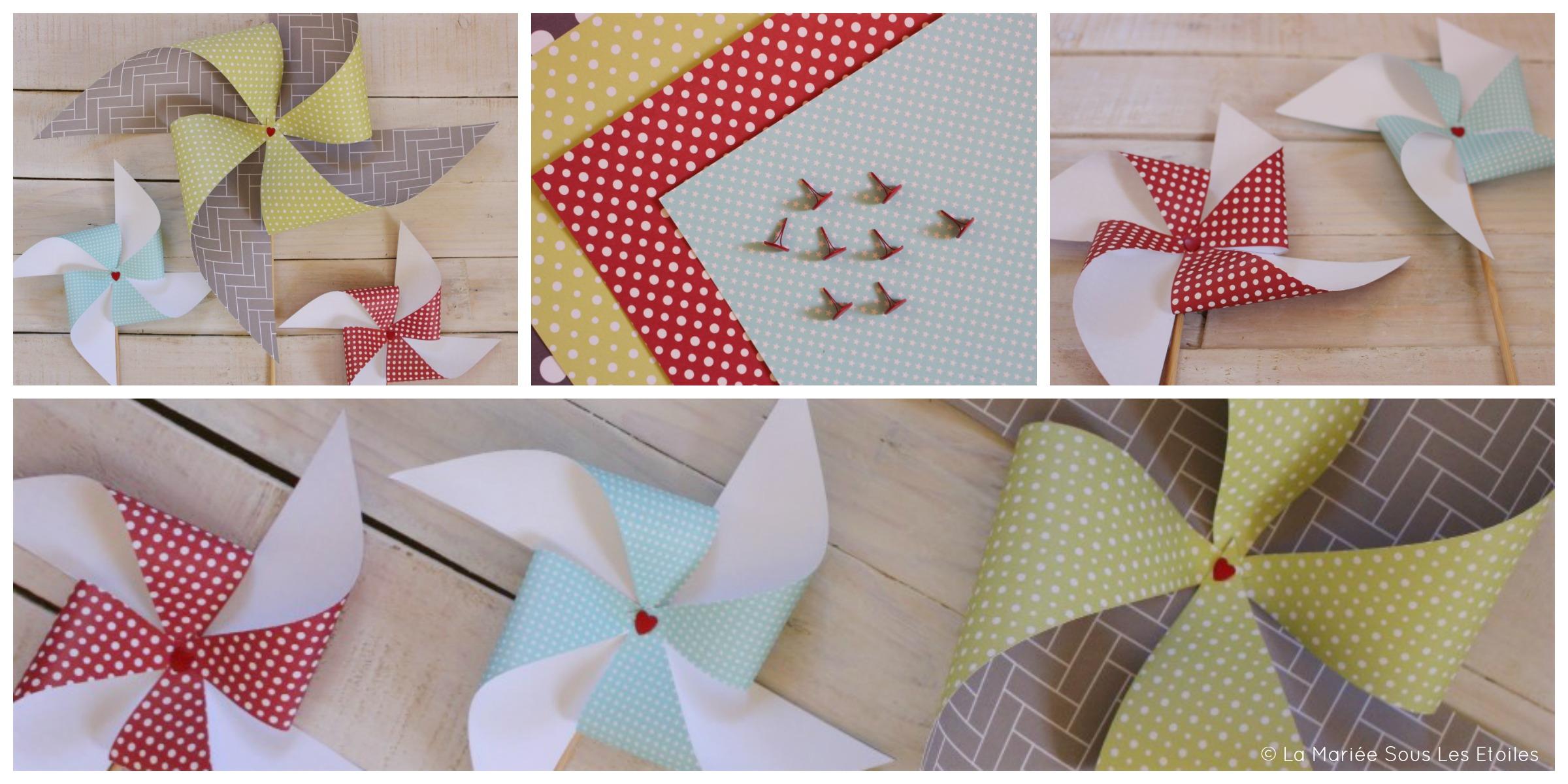 Décoration Chambre Bébé Fait Soi Même diy • fabriquer des moulins à vent version papier • la