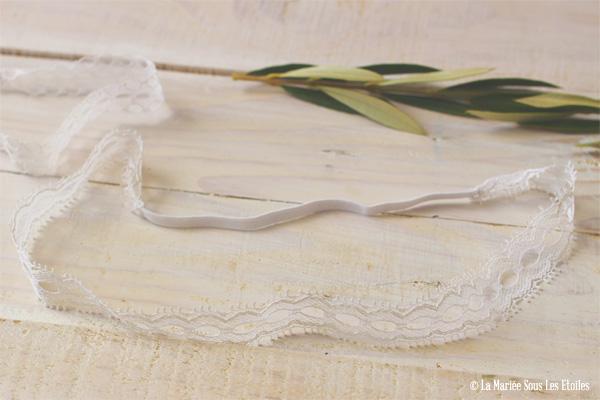 DIY - Fabriquer un headband dentelle pour sa coiffure de mariée   Atelier Do It Yourself {DIY}   Blog Mariage   La Mariée Sous Les Etoiles
