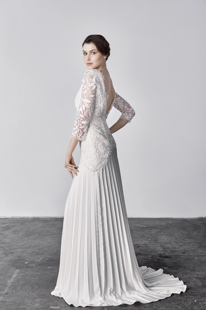 Robe de mariée Savin London, modèle Megan, Boutique Plume Paris