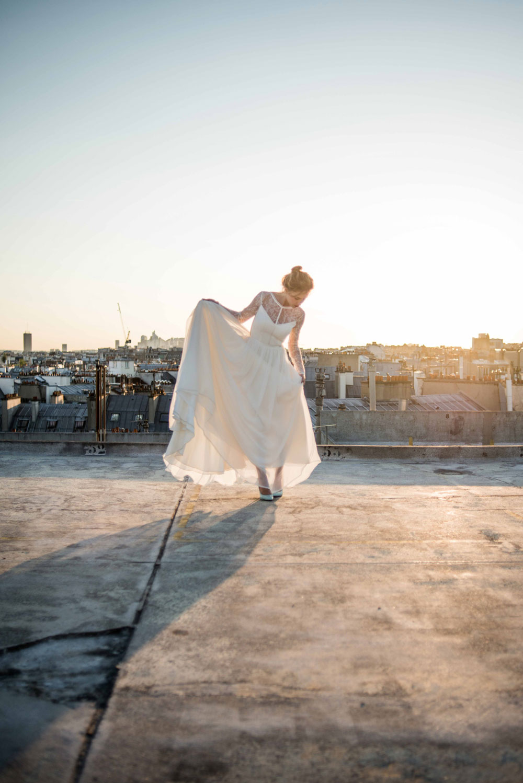 Mademoiselle de Guise ★ Collection Mariage 2016 | Modèle Louise, photo 12 © Ce Jour-Là
