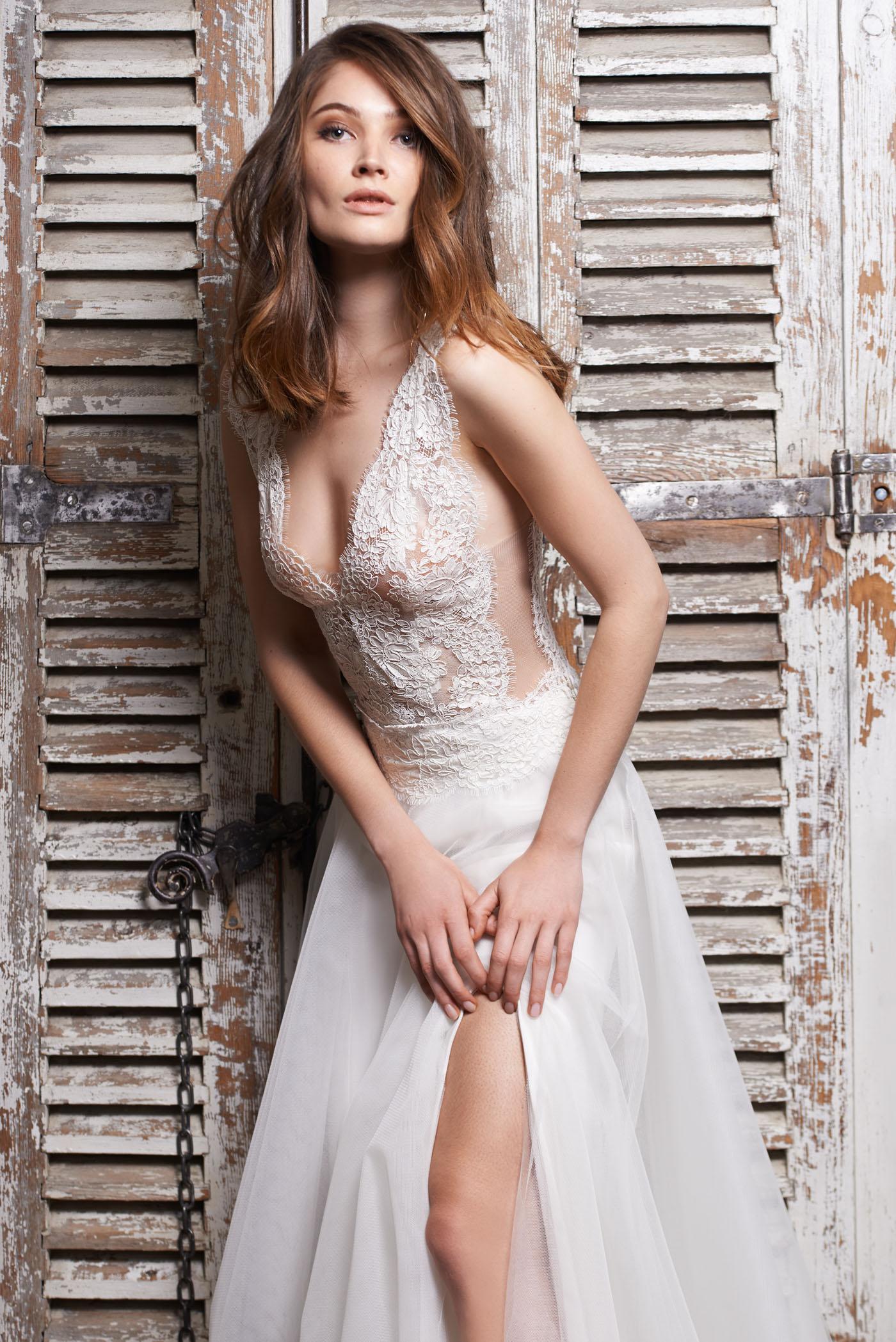 Fabienne Alagama • Nouvelle collection 2018 de robes de mariée