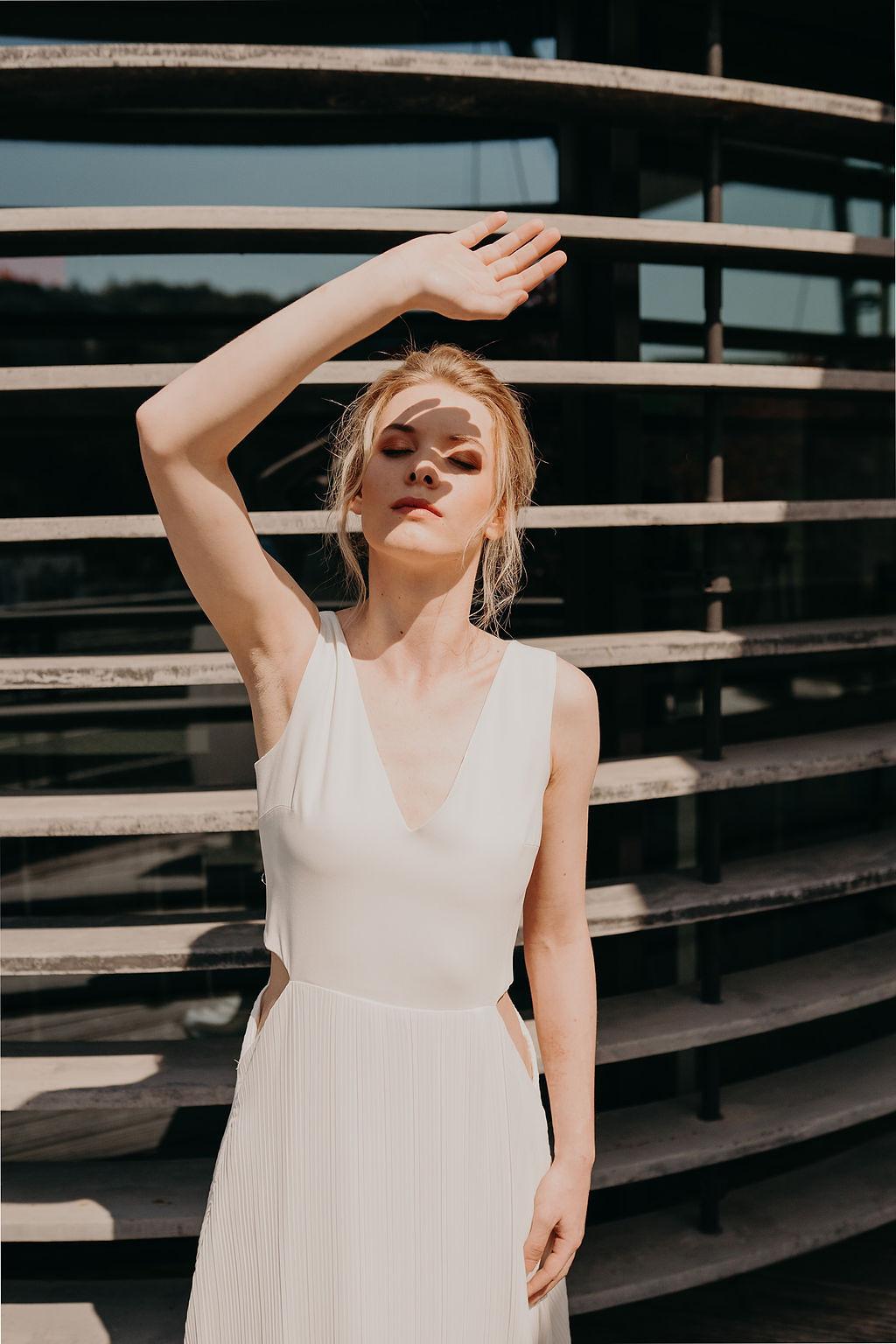 Caroline Quesnel RESONANCE collection 2020 de robes de mariée | La Mariée Sous Les Etoiles | Matternhorn Photography