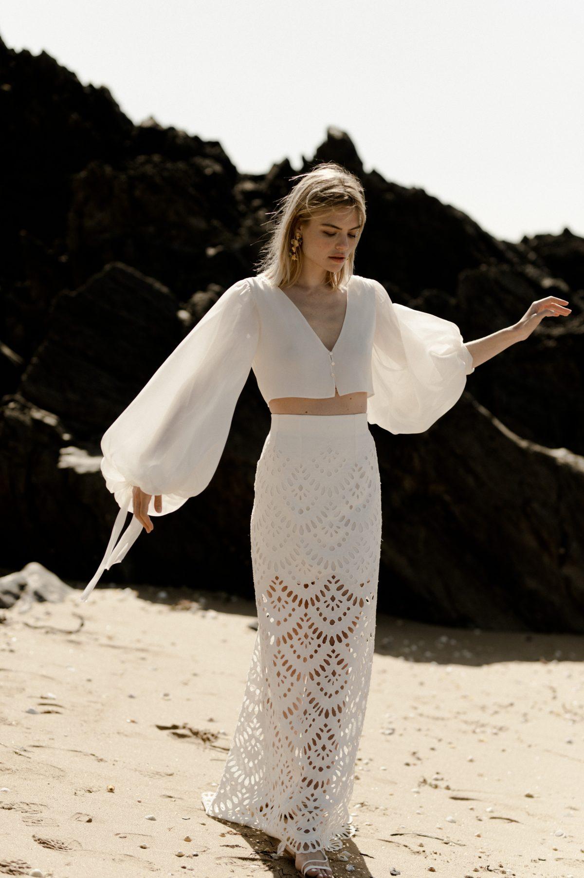 Amarildine collection 2020 robes de mariée | La Mariée Sous Les Etoiles | Credit Solveig and Ronan